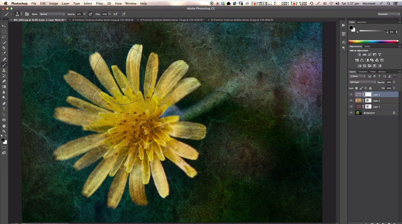 Free Tutorial – Applying Textures using Photoshop