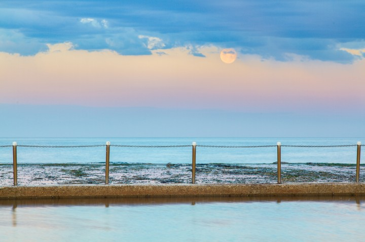 Mona Vale Pool - Supermoon