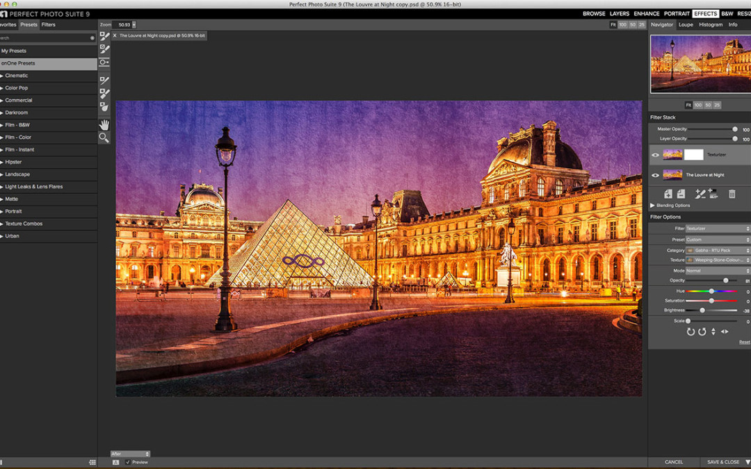 Sneak Peak at the Perfect Photos Suite 9 – Texture Pack