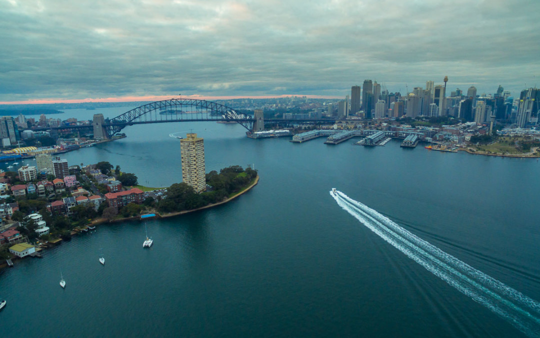 DJI Phantom 3 – Flying over the Harbour