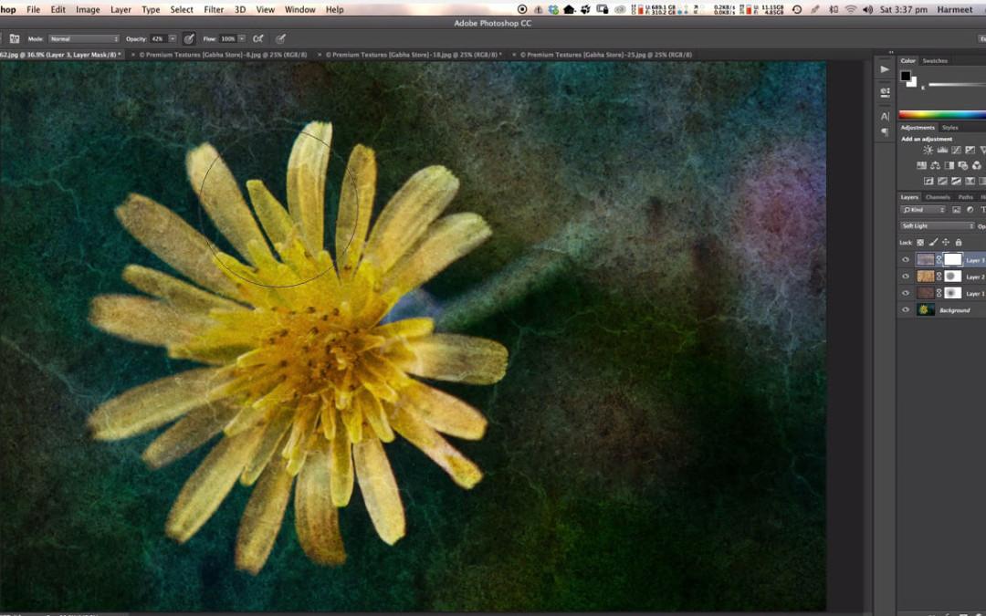 Free Tutorial – Applying Textures using Photoshop