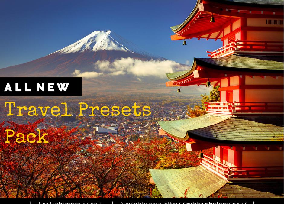 Travel Presets Pack for Lightroom