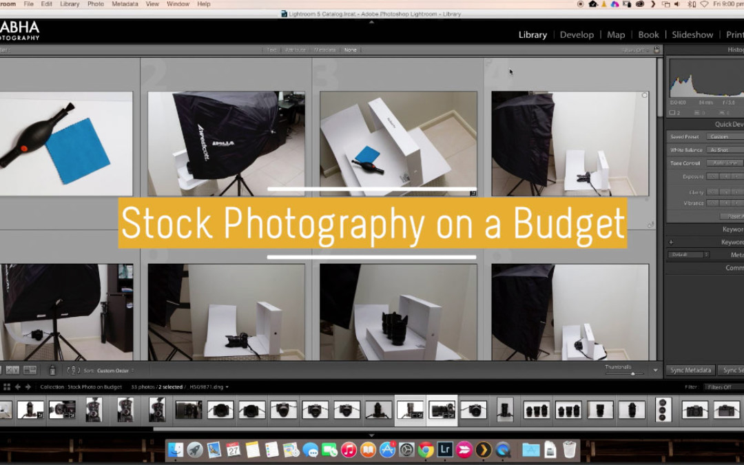 Stock Photography on a Budget – From Setup to Edit
