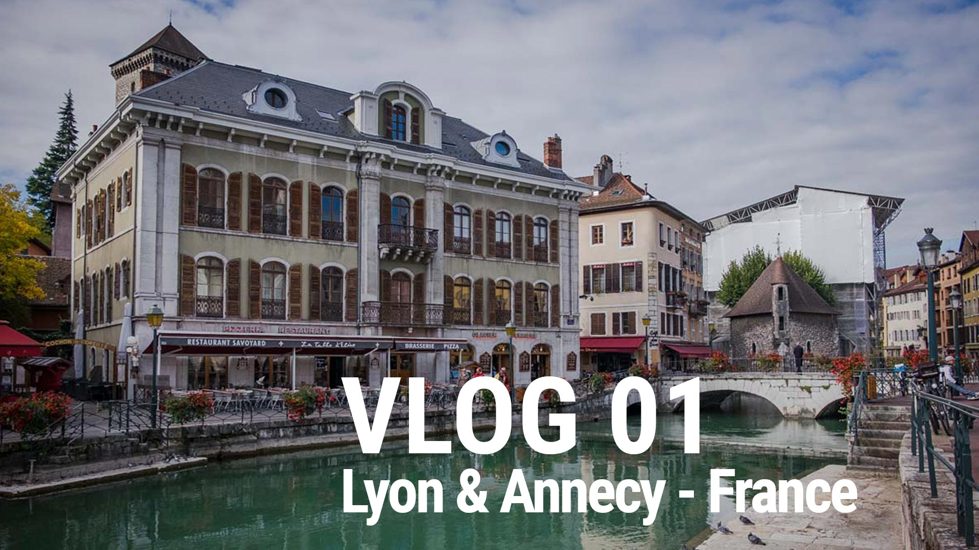 VLOG Launched – First VLOG takes you to France